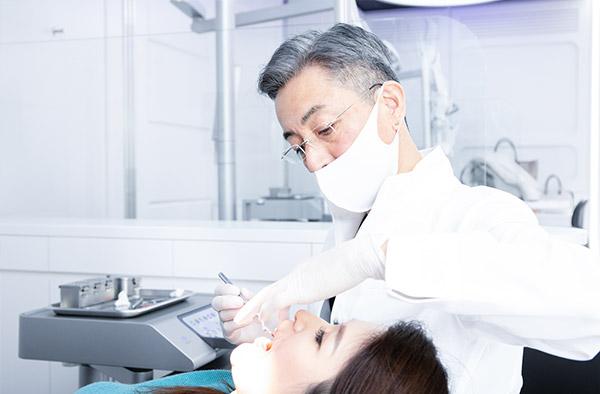 歯を薄く削るディスキング